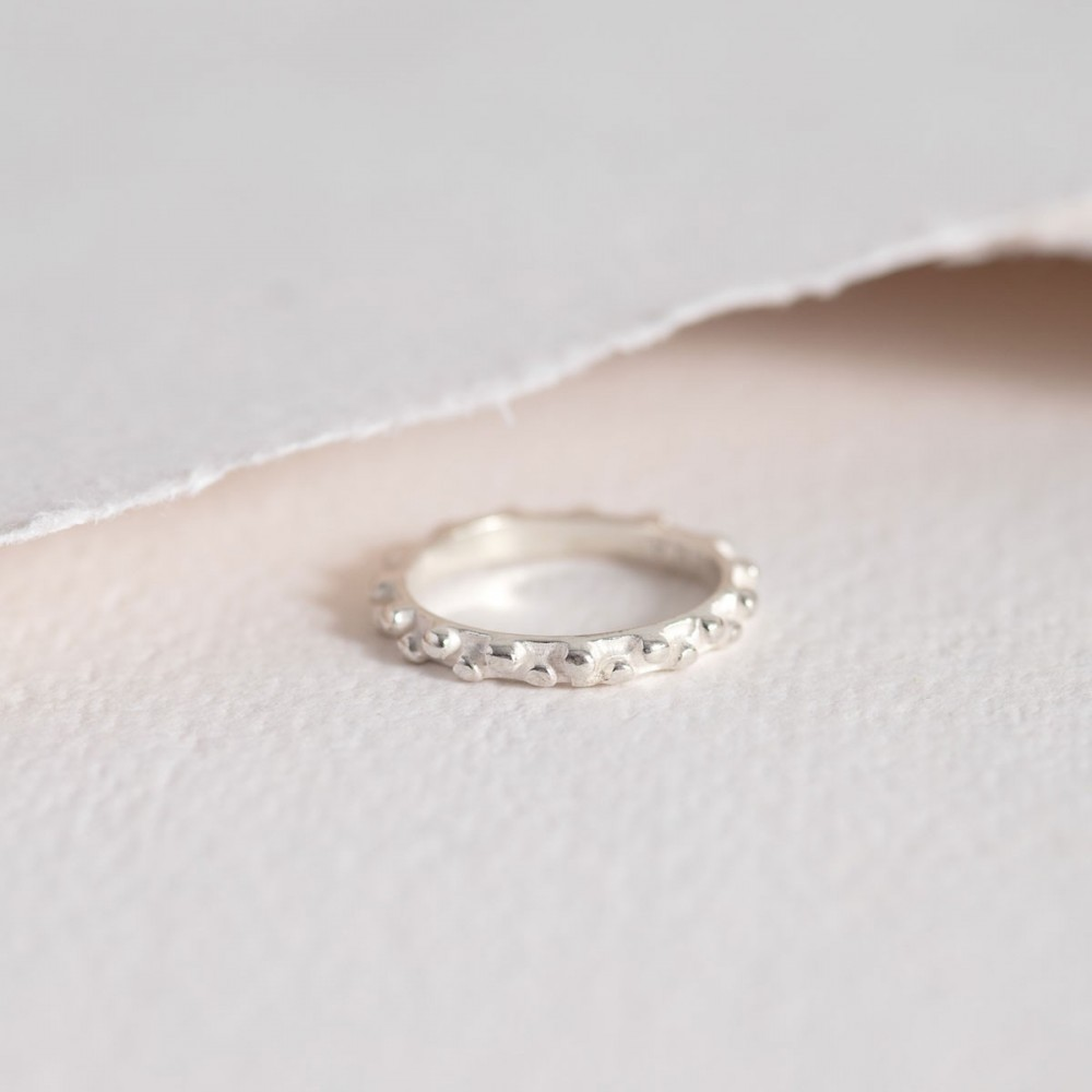 VELÁ - Silver dial ring. Limited Edition
