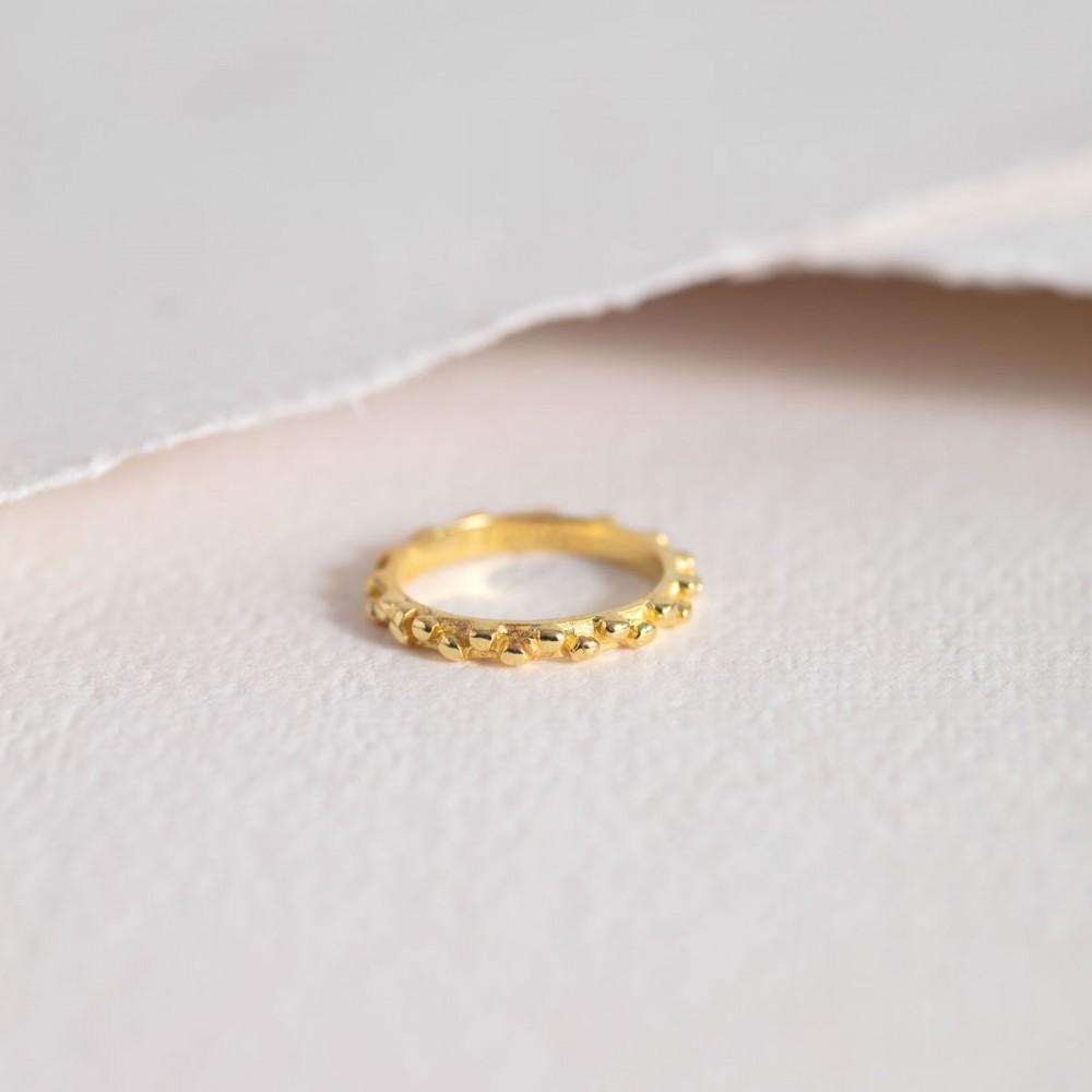 VELA GOLD - Spheres Ring. Limited...